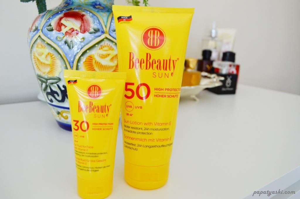 f853547dd62f6 Bee Beauty Sun Yüz ve Vücut İçin Güneş Kremleri İncelemesi - Papatya ...