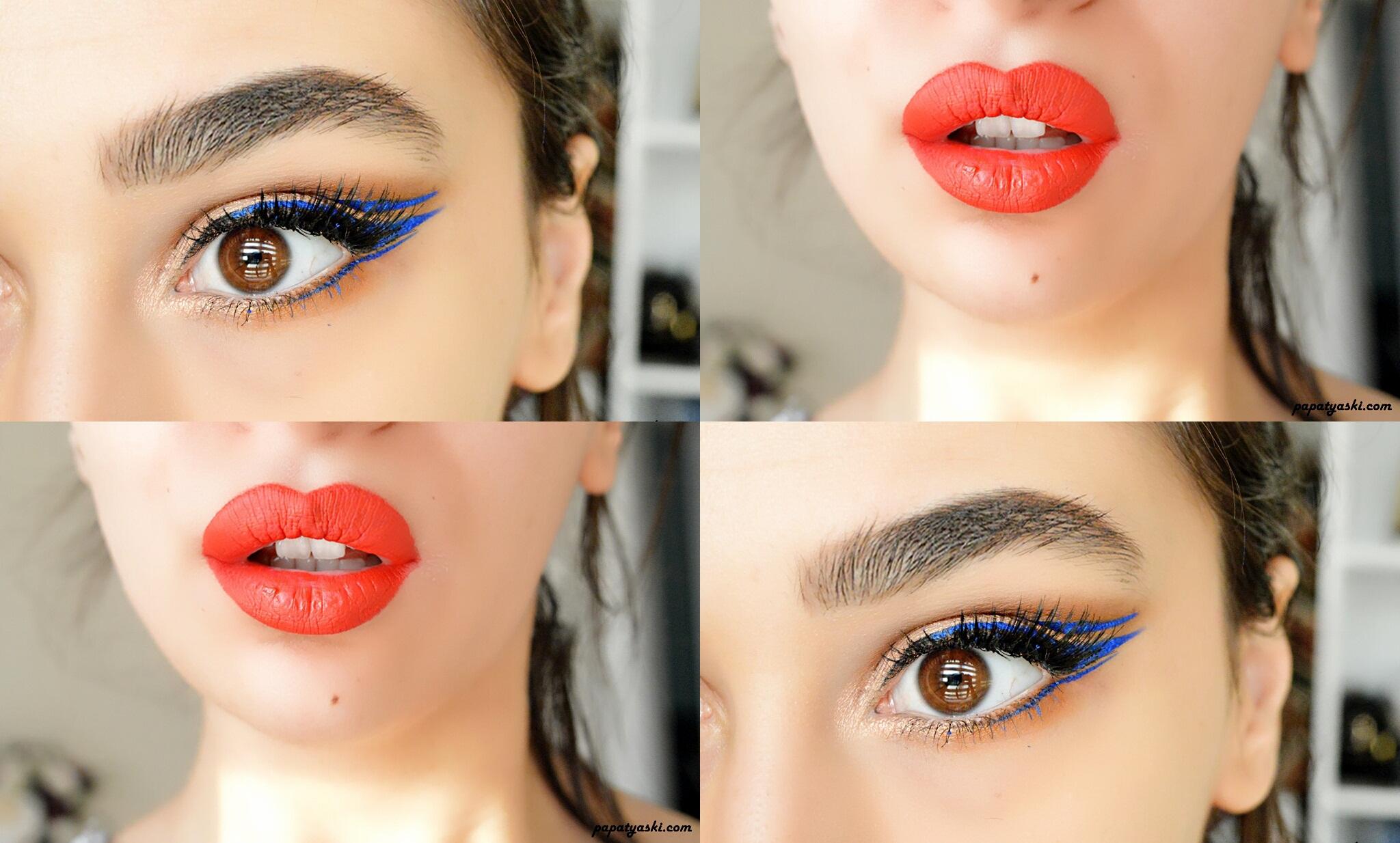 colorful-eyeliner-look