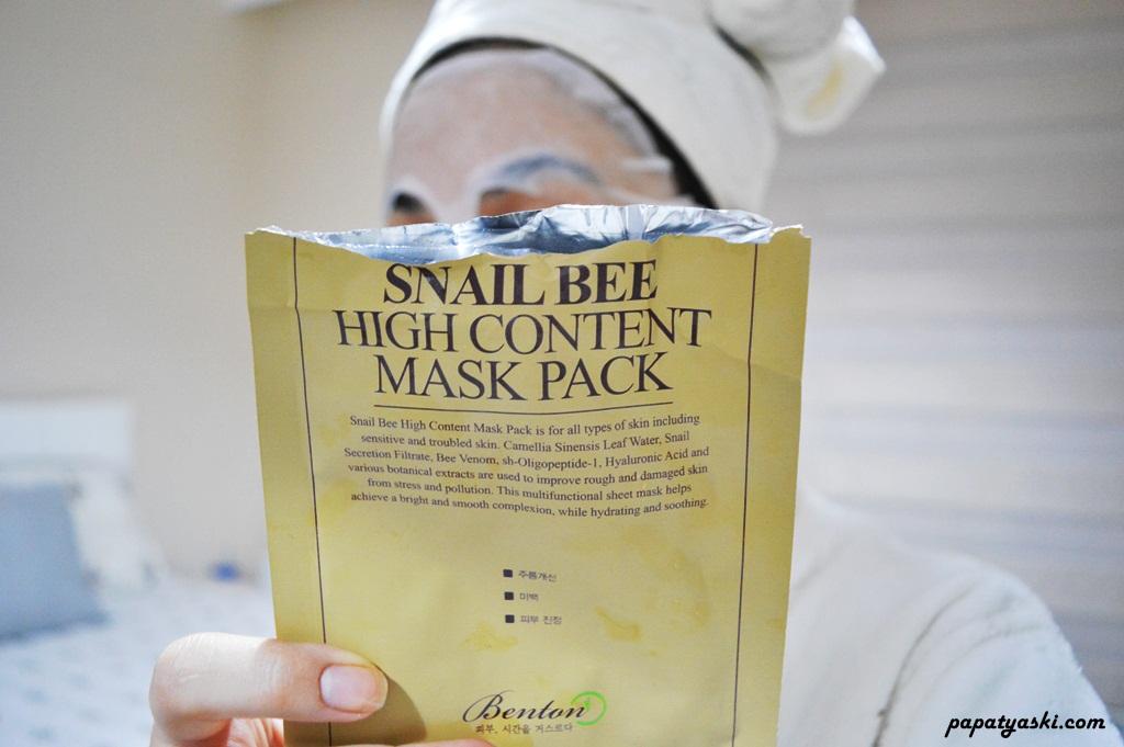 snail-bee-maske