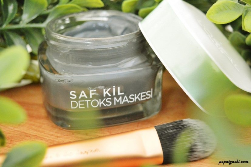 loreal-saf-kil-detoks-maskesi