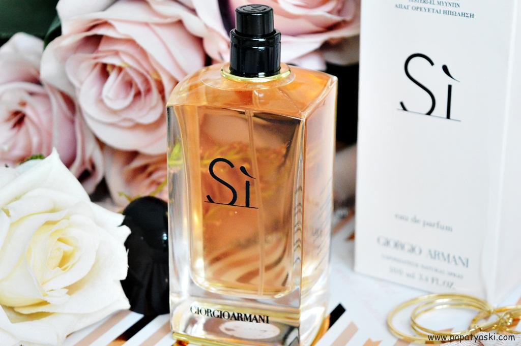 Giorgio Armani Si Parfüm Yorumlarım Papatya Aşkı