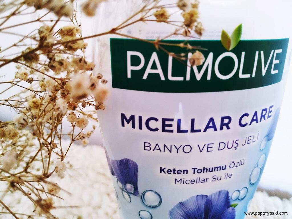 palmolive keten tohumu duş jeli